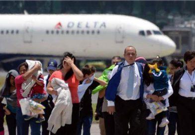 Cerca de 61.700 hondureños deportados este año, un 54,6 % más que en 2017