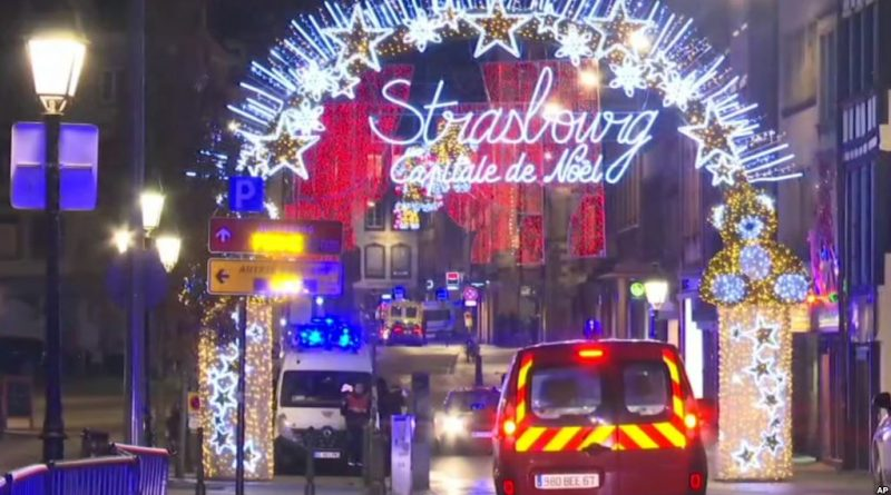 Tiroteo en el centro de Estrasburgo deja dos muertos y varios heridos
