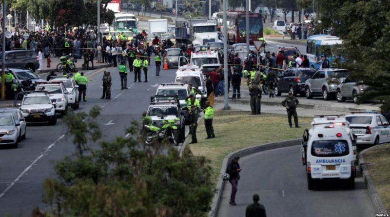 Colombia: Explota carro bomba en escuela de policía de Bogotá
