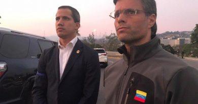 Guaidó pide a civiles y militares acompañar el «cese definitivo de la usurpación»