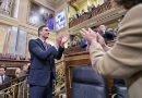 Socialista Pedro Sánchez es investido presidente del gobierno de España