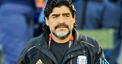 Muere el astro del fútbol argentino Diego Armando Maradona